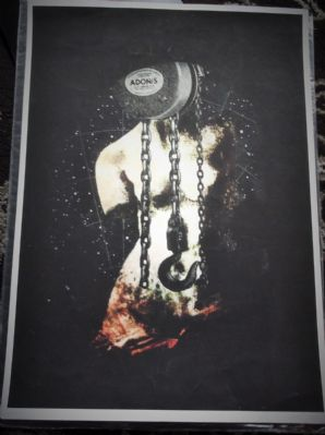 "SIGNED LIMITED EDITION PRINT HANNAH BAYS BEAUTIFUL LOSERS 20"" X 17"" UNFRAMED"